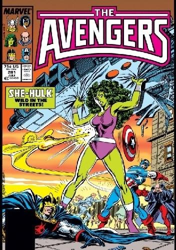 Okładka książki Avengers #281