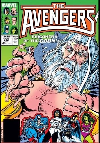 Okładka książki Avengers #282