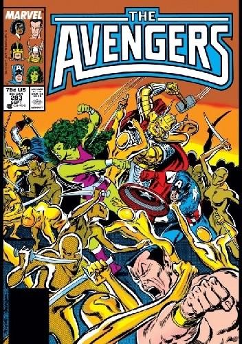 Okładka książki Avengers #283