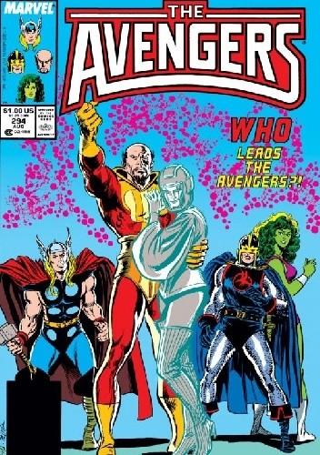 Okładka książki Avengers #294