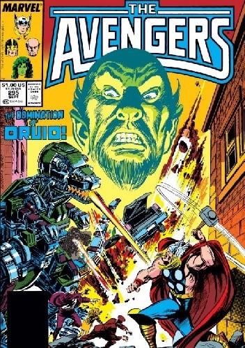 Okładka książki Avengers #295