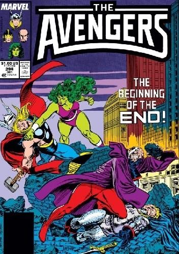 Okładka książki Avengers #296