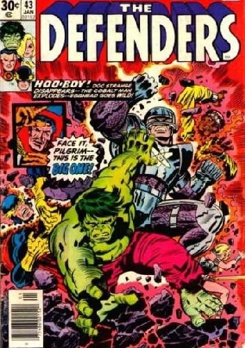 Okładka książki Defenders #43