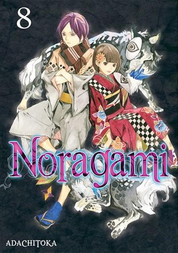 Okładka książki Noragami #8