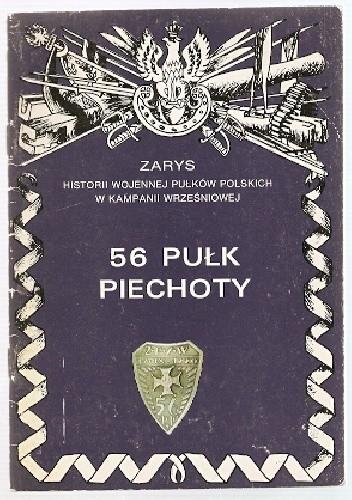 Okładka książki 56 Pułk Piechoty