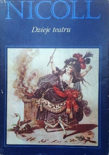 Okładka książki Dzieje teatru
