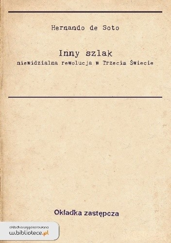 Okładka książki Inny Szlak