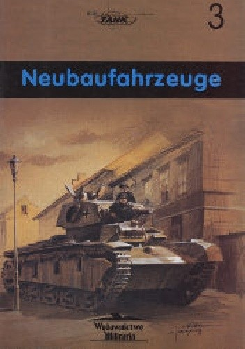 Okładka książki Czołg ciężki Neubaufahrzeuge