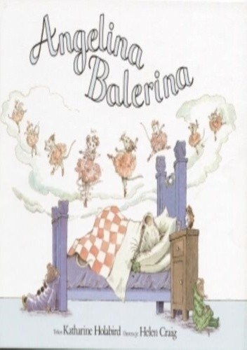Okładka książki Angelina Balerina