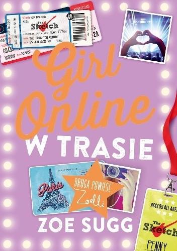 Okładka książki Girl Online.  W Trasie