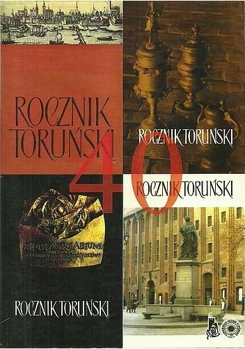 Okładka książki Rocznik Toruński 40