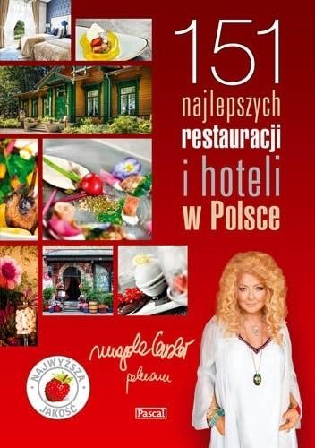 Okładka książki 151 najlepszych restauracji i hoteli w Polsce