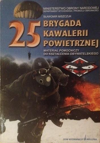 Okładka książki 25 Brygada Kawalerii Powietrznej
