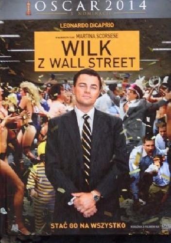 Okładka książki Wilk z Wall Street (książka + film)