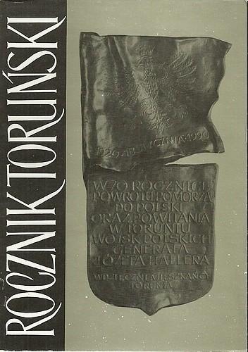 Okładka książki Rocznik Toruński 19
