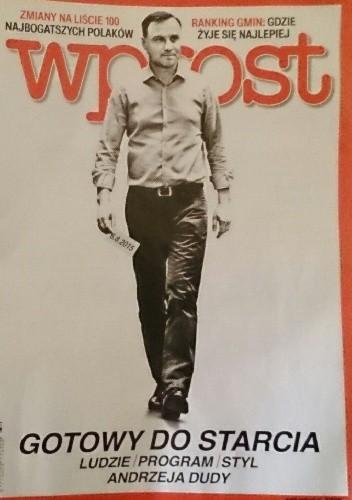 Okładka książki Wprost, nr 32/2015