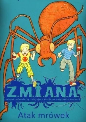 Okładka książki Atak mrówek