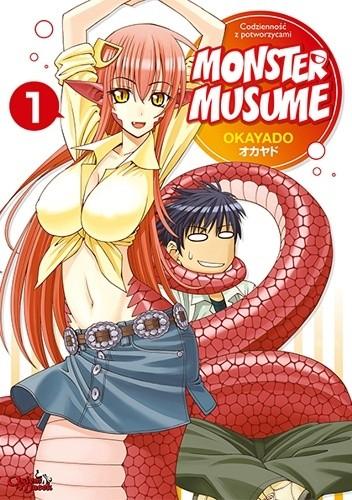 Okładka książki Monster Musume #1