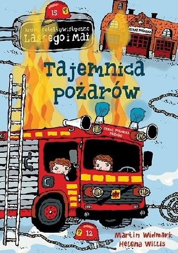 Okładka książki Tajemnica pożarów