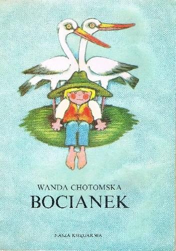 Okładka książki Bocianek