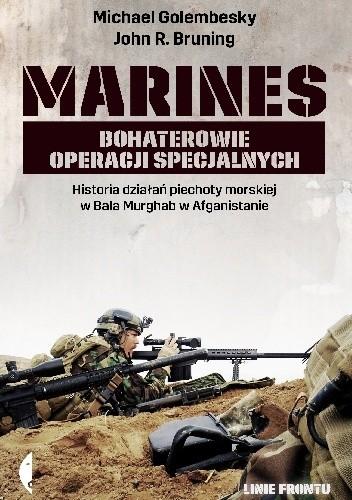 Okładka książki Marines. Bohaterowie operacji specjalnych