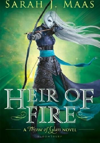 Okładka książki Heir of of fire