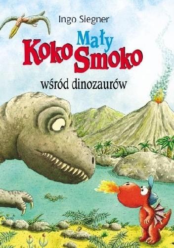 Okładka książki Mały Koko Smoko wśród dinozaurów
