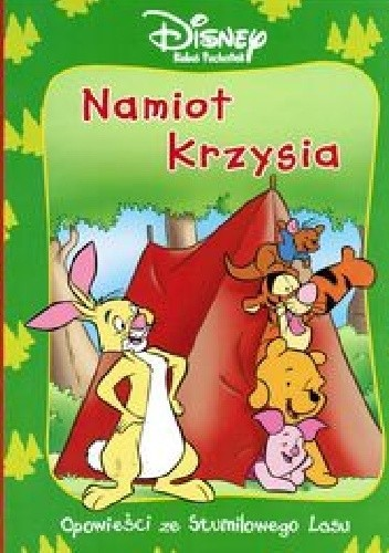 Okładka książki Namiot Krzysia