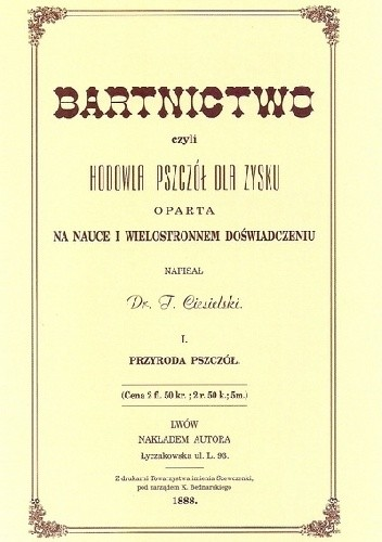 Okładka książki Bartnictwo tom I
