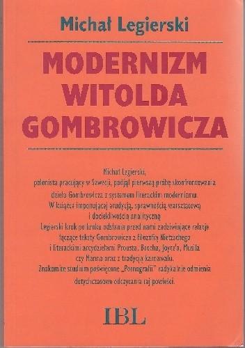 Okładka książki Modernizm Witolda Gombrowicza