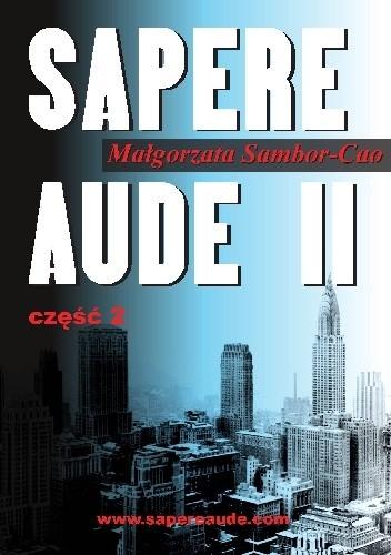 Okładka książki Sapere Aude II część 2