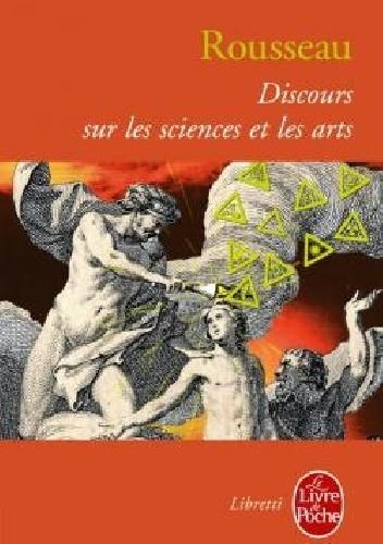 Okładka książki Discours sur les sciences et les arts