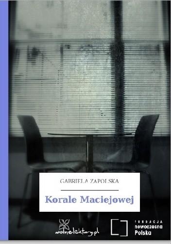 Okładka książki Korale Maciejowej