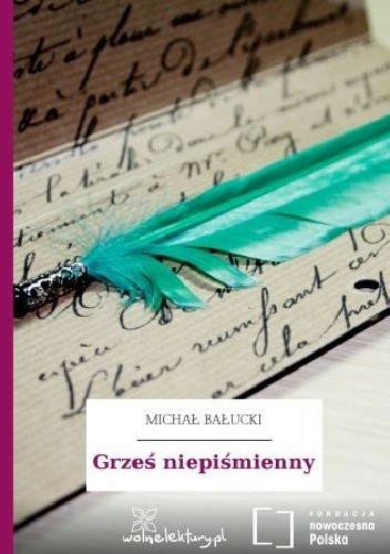 Okładka książki Grześ niepiśmienny