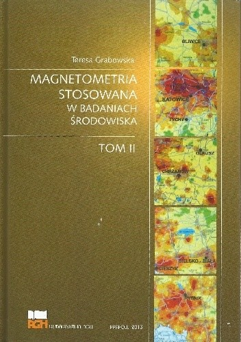 Okładka książki Magnetometria stosowana w badaniach środowiska. Tom II
