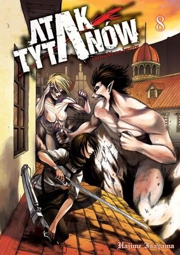 Okładka książki Atak Tytanów tom 8
