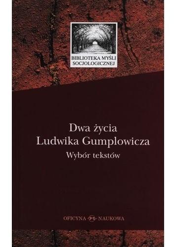 Okładka książki Dwa życia Ludwika Gumplowicza