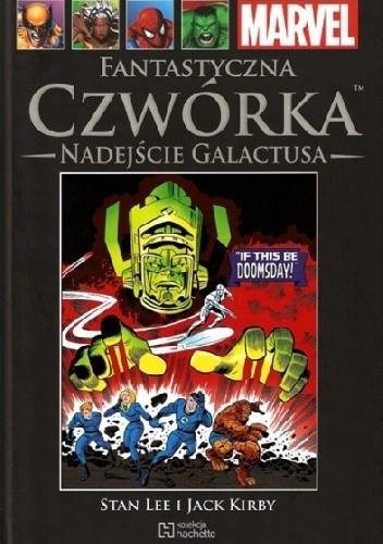 Okładka książki Fantastyczna Czwórka. Nadejście Galactusa