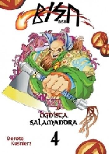 Okładka książki Bisu - Ognista salamandra (tom 4)