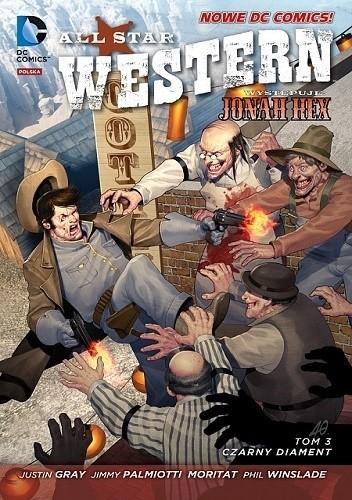 Okładka książki All Star Western: Czarny diament