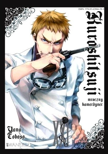 Okładka książki Kuroshitsuji tom 21
