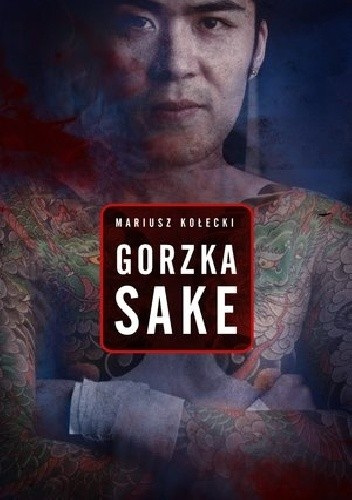 Okładka książki Gorzka sake