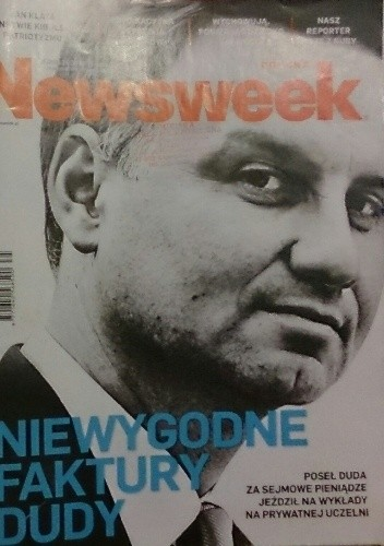 Okładka książki Newsweek 35/2015