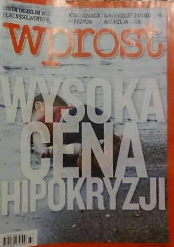 Okładka książki Wprost, nr 37/2015