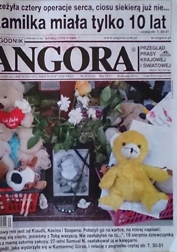 Okładka książki Angora 35/2015