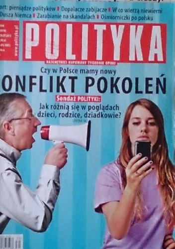 Okładka książki Polityka, nr 30/2015