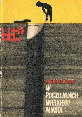 Okładka książki W podziemiach wielkiego miasta
