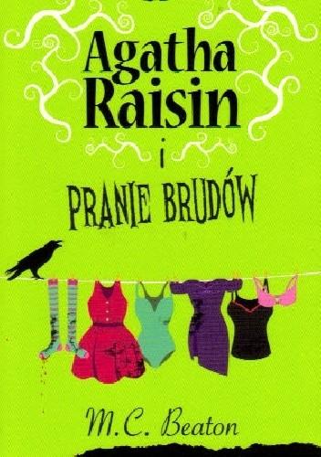 Okładka książki Agatha Raisin i pranie brudów