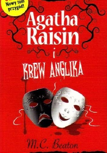 Okładka książki Agatha Raisin i krew Anglika