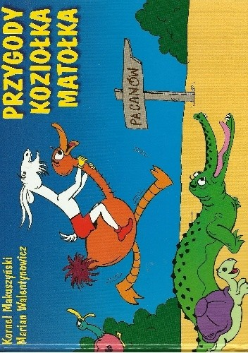 Okładka książki Przygody Koziołka Matołka